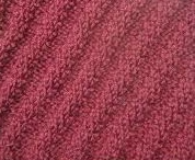 Diagonal Rib Stitch