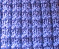 Knitting Stitches Waffle Stitch : Waffle Stitch - Purl Avenue