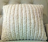 Fisherman's Rib Accent Pillow