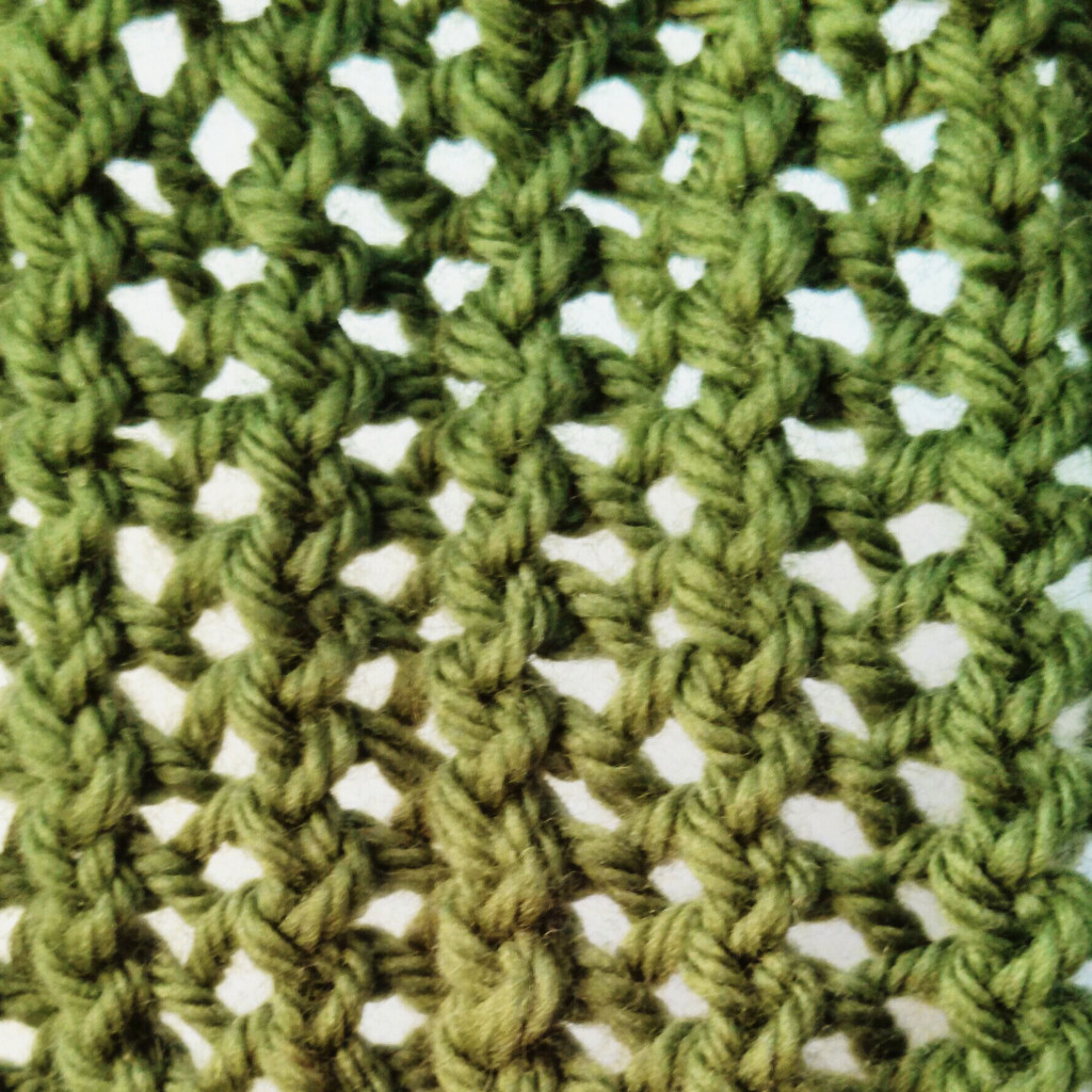 Ridge Lace Stitch