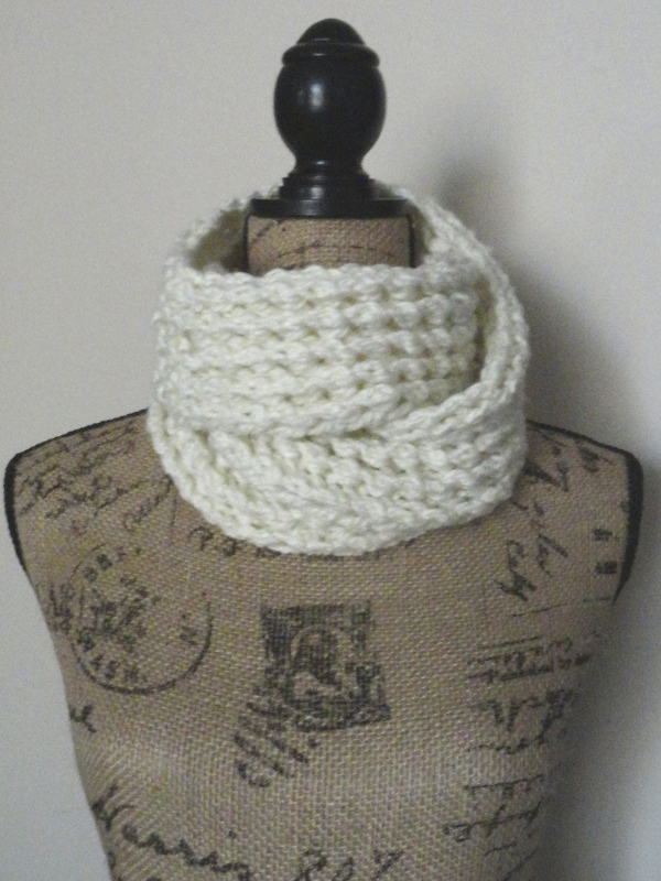 Ribbed Lace Scarf - Purl Avenue