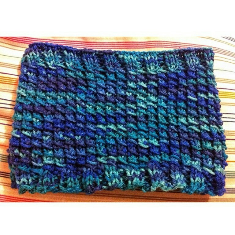 Bamboo Stitch Cowl by Frances Orteza