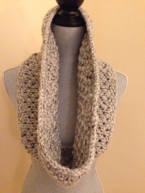 Mesh Lace Cowl by Daryl Cohen
