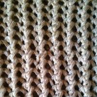 Ribbed Mesh Stitch