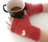 Valentine's Day Gloves