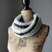 Striped Affair Infinity Scarf