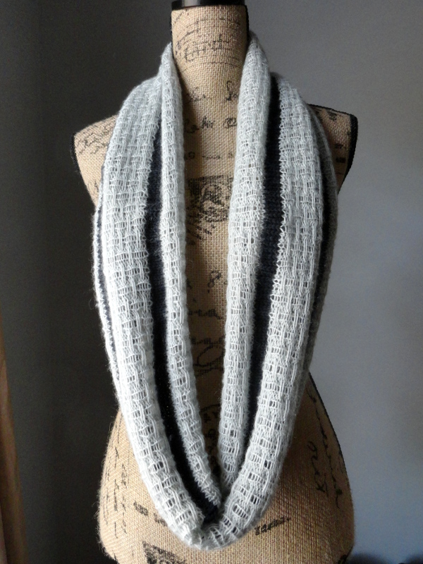 Striped Affair Infinity Scarf - Purl Avenue