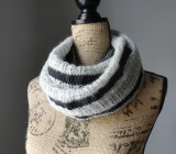 A Striped Affair Infinity Scarf