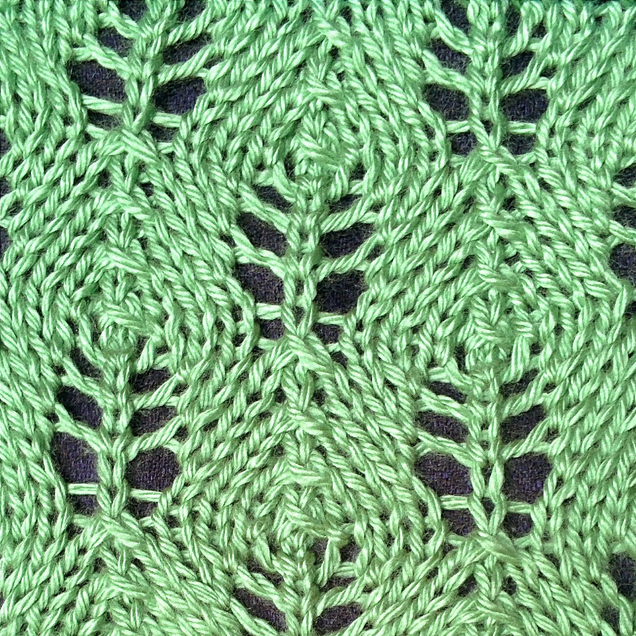 Flower Bud Lace Stitch