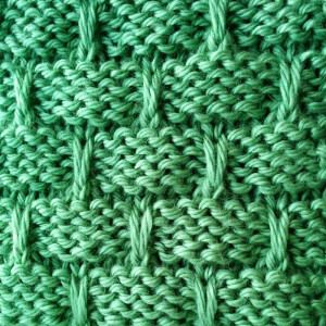 Slip Stitch Basketweave Stitch