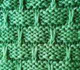 Slip Stitch Basketweave Stitch