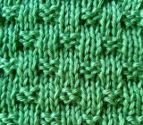 Tiny Woven Basketweave Stitch