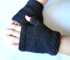 Easy Knit Fingerless Gloves