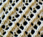 Fancy Diagonal Lace Stitch