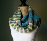 Stripes Infinity Scarf