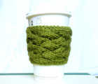 Woven Cable Coffee Cup Sleeve