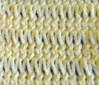 Stockinette Elongated Stitch