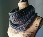 Irish Mesh Cowl