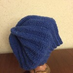 Rickrack Rib Slouchy Hat by Maya