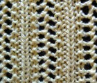 Elaborate Vertical Lace Stitch