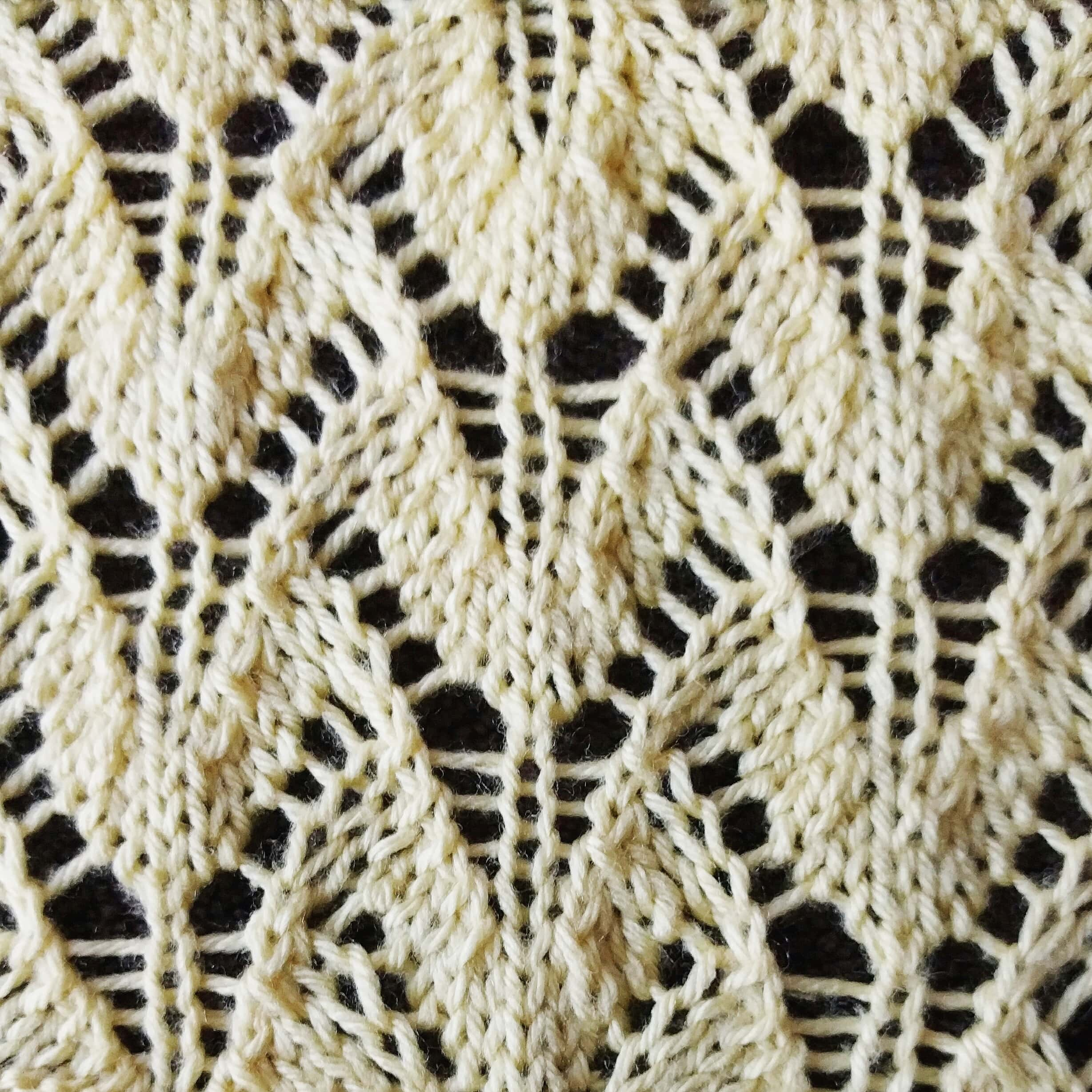 Lace Knitting Stitches Easy : lace stitch Archives - Purl Avenue