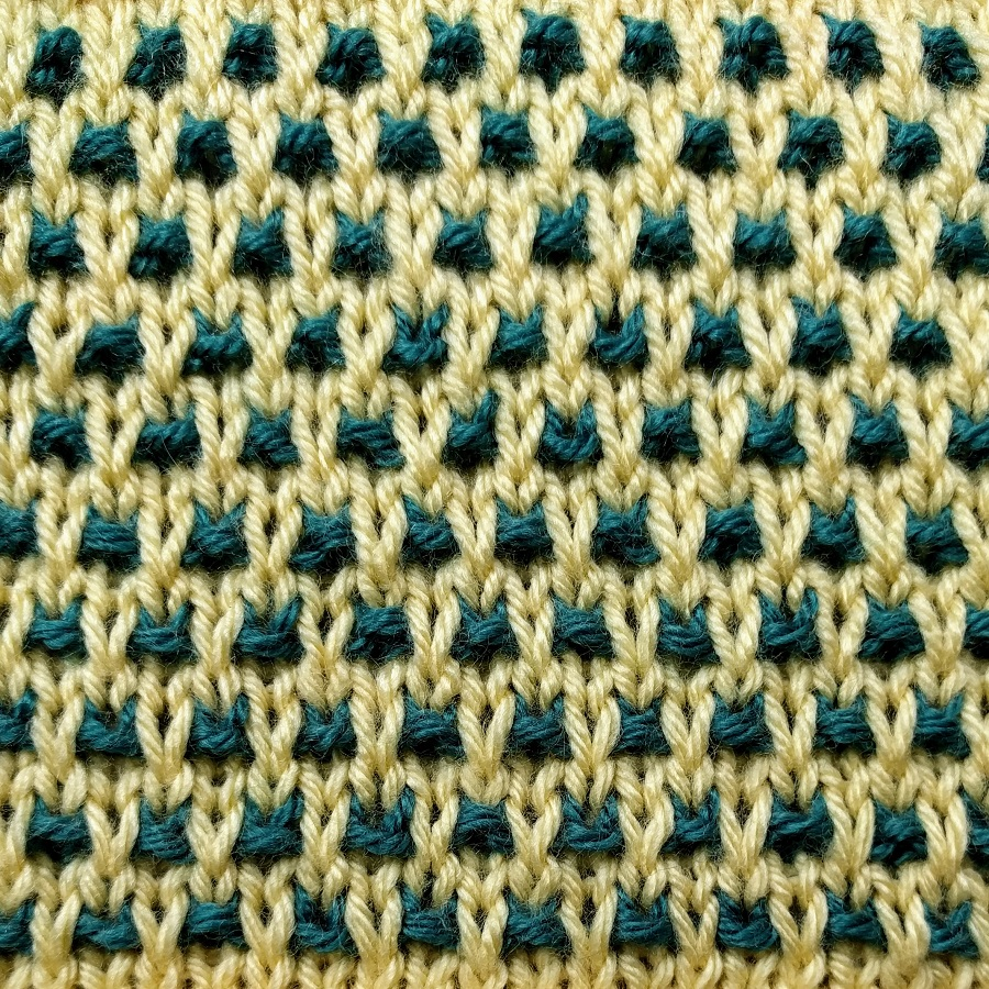 Speckled Slip Stitch