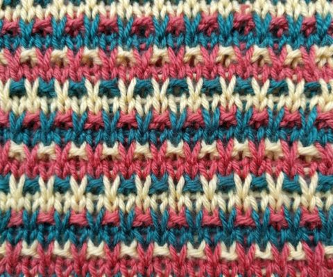 Speckled Slip Stitch II