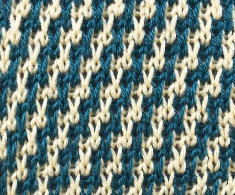 Diagonal Stripes Stitch