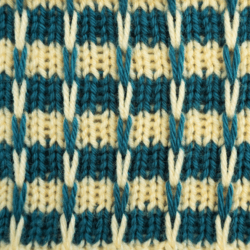 Striped Slip Knit Stitch