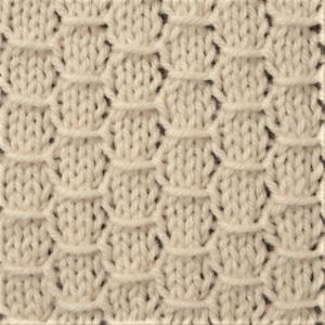 Hexagon Knit Stitch